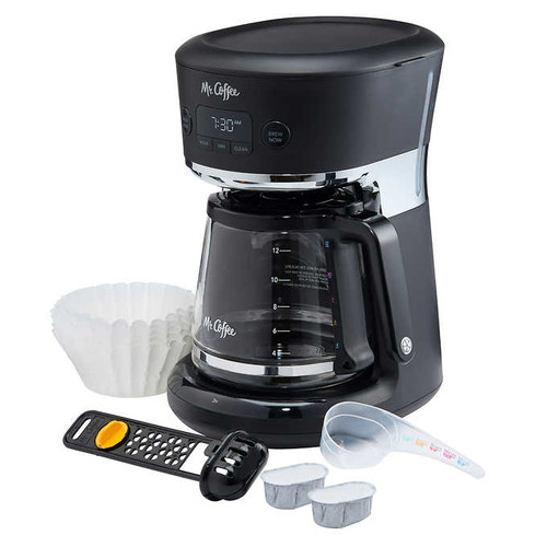 Mr. Coffee Easy Measure 12 cup Programmable Coffee Maker ( BVMC-RF100-CP)