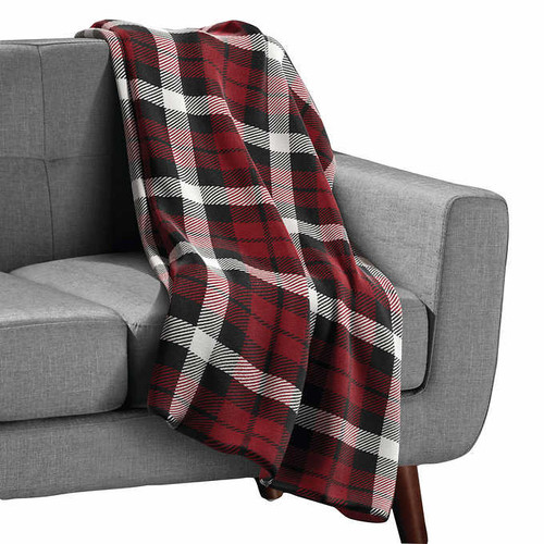 Sunbeam Velveteen Plush Heated Throw (1350905)