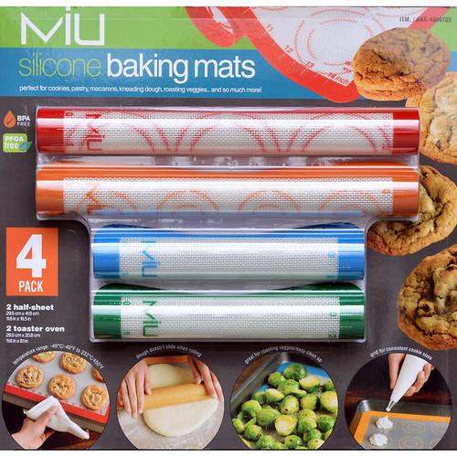 MIU 4-piece Silicone Baking Mats