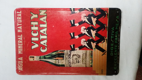 "Vintage Europe Metal Signs ""Vichy Catalan"""