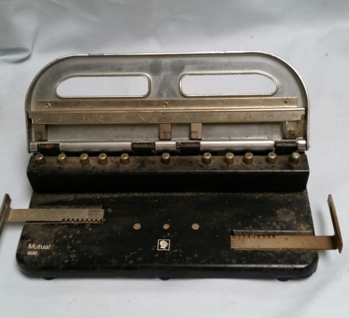 Vintage Heavy Duty Hole Paper Punch