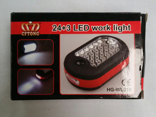 24 + 3 Led Work Light (hg wld10 )