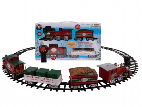 Lionel North Pole Central Lines Train Set With Lights And Sound New 2019 (023922023698)
