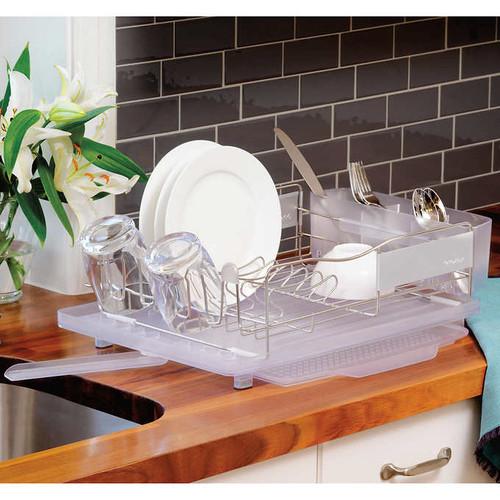 Polder Stainless Steel Dish Rack (047188615503)