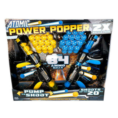 Atomic Power Popper 2 Pack with 84 Balls (M3600022818)