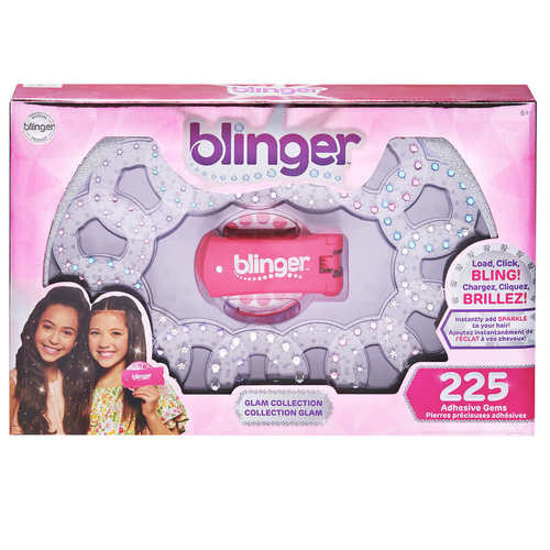 The Hair Blinger Glam Collection Set - 225 Pieces! (889933185158)