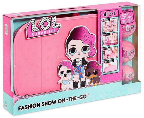 LOL Surprise Fashion Show On The Go Playset [Light Pink] (035051421610)
