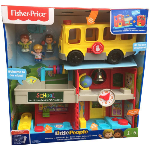 Fisher Price Little People Welcome to School Gift Set (887961814965)