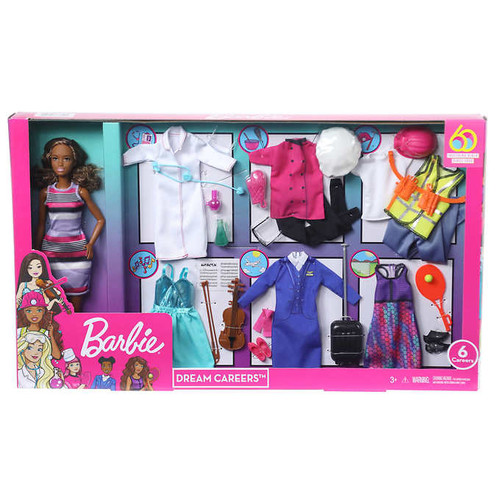 "Barbie ""Dream Careers"" Doll Set (887961773545)"