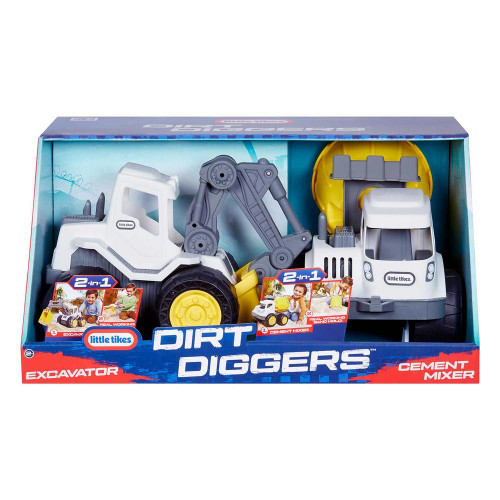 Little Tikes Dirt Diggers 2 in 1 Vehicles 2 Pack (050743486562) (