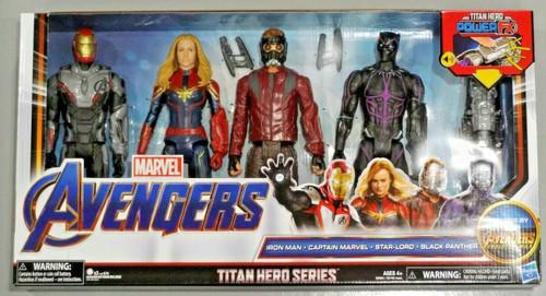 MARVEL AVENGERS TITAN HERO FX SERIES COLLECTORS 4 FIG. PACK WAKANDA FOREVER