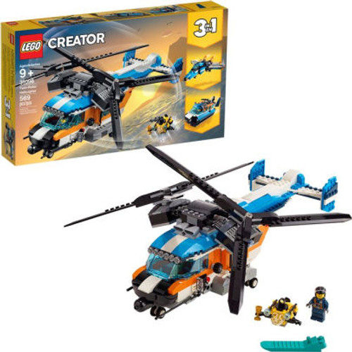 LEGO Creator Twin-Rotor Helicopter 31096 (0673419302166)