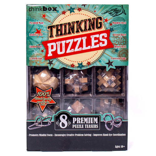 Think Box Great Brain Challenge, 8-pack (1266433)