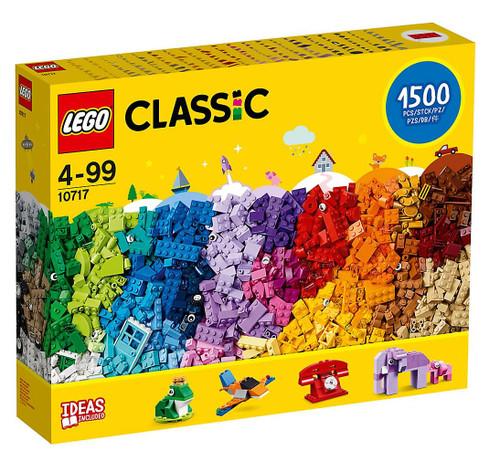 LEGO Classic Brick Set, 1500 Piece 10717 (673419283366)