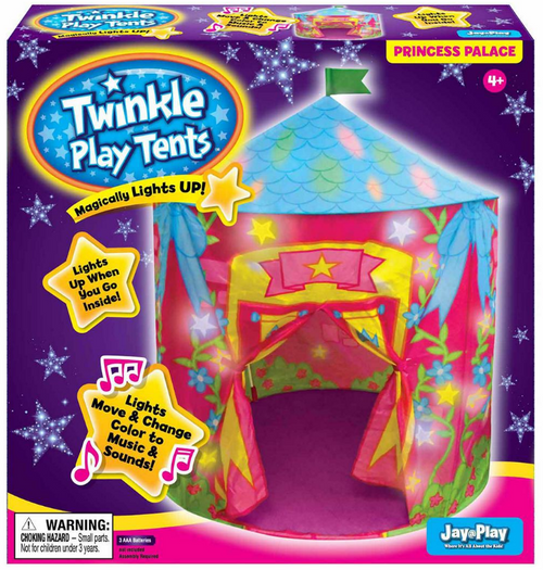 Twinkle Play Tent Princess Palace
