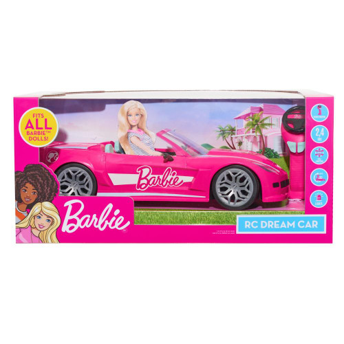 Barbie Remote Control Convertible Car ( 0303)