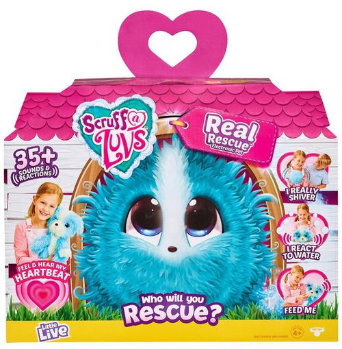 Little Live Pets Scruff-A-Luvs Real Rescue Electronic Pet ( 98535 )