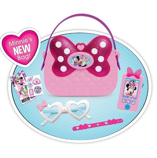 Disney Junior Minnie's Happy Helpers Bag Set with Bonus Minnie Doll ( 89740 )