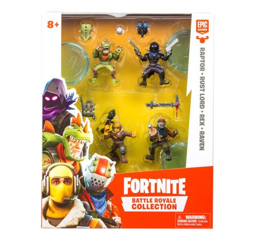 Fortnite Figure Squad Pack - Wave 1 (630996635193)