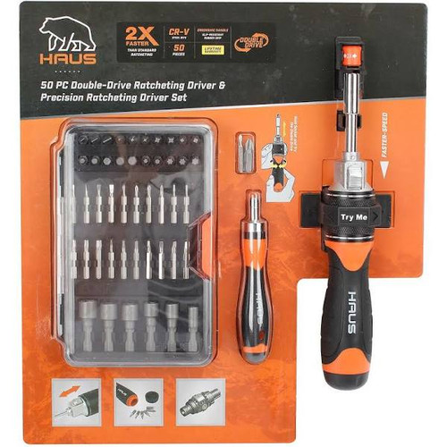 Haus 50 Piece Ratcheting Driver Set (18008)