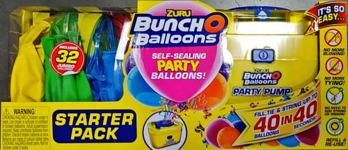 Zuru Buncho Self-Sealing Party Balloons! Starter Pack - Color