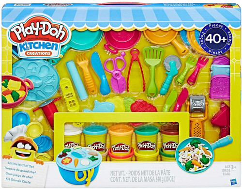 Play-Doh Kitchen Creations 40 Pieces Ultimate Chef Set (630509591145)