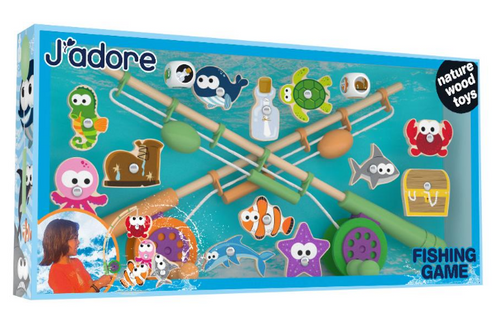 J'adore Wooden Fishing Game (828984 )