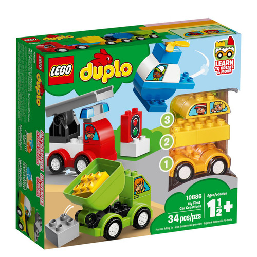 LEGO DUPLO My First Car Creations 10886 (673419301831)