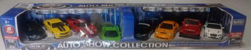 MSZ VROOM TECH Auto Show Collection Doors Open 8 Pack (Blue Box)