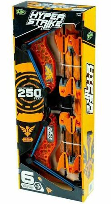 Zing Hyperstrike Powergrip Orange Bow And Arrows (008983424707)