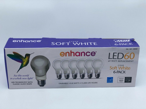 Feit Electric Led 60W Replacement Light (6 In 1 Pack), (017801157253)