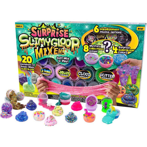 Slimygloop Surprise Mixems 20 Containers (765940930793)