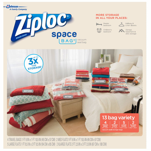 Ziploc Space Bags Variety Pack, 13 ct.