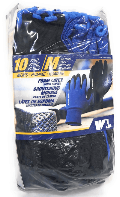 Wells Lamont Foam Latex Work Gloves (1193758)