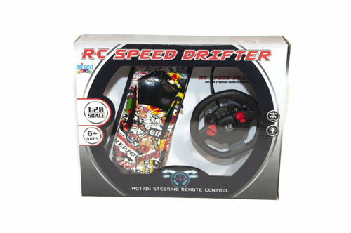 Remote Control Car Speed Drifter With Motion Steering Wheel Vehicle 1:20 Scale ( MT1007)