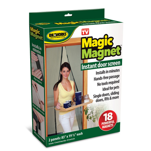 Magic Magnet Screen Door ( JB7513)