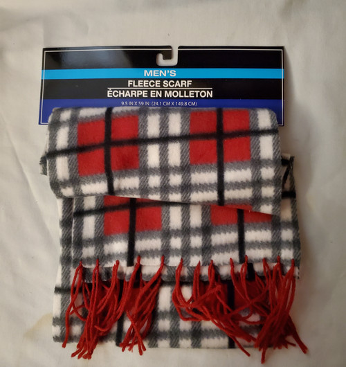Men's Fleece Scarf (639277619143)