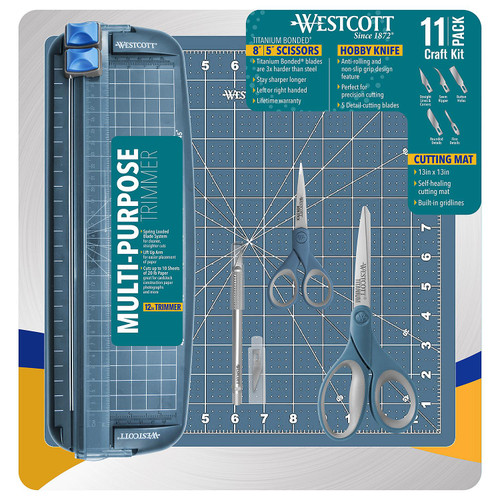 Westcott 11-Piece Craft Kit