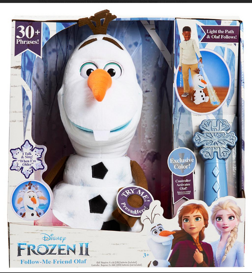 Disney Frozen 2 Follow-Me Olaf with Colored Remote (32615 )