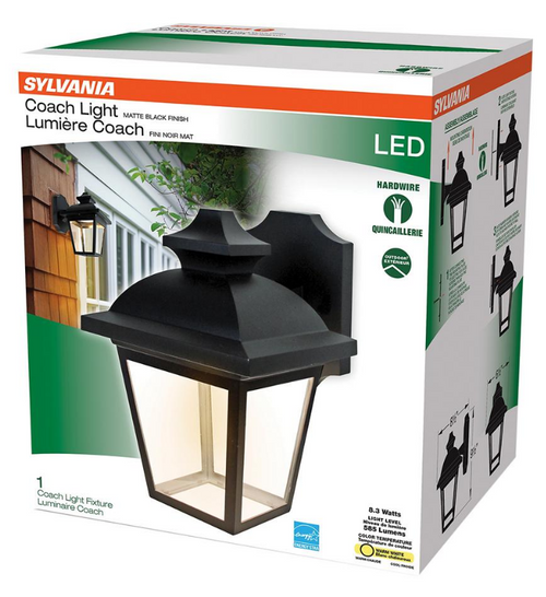 Sylvania Integrated LED Outdoor Coach Light Fixture (60813 )