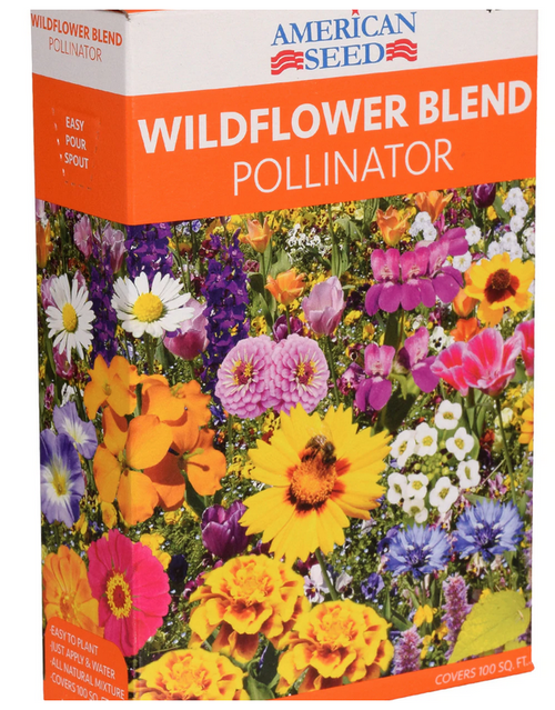 American Seed Wildflower Blend Pollinator, 2 oz. Boxes (3046.78)