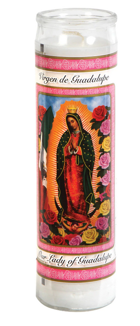 "Religious 8"" Candles Mix N Match any 6 and Save More"