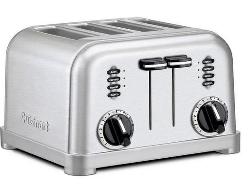 Cuisinart 4-Slice Toaster - Stainless Steel (RBT-360BJ2)