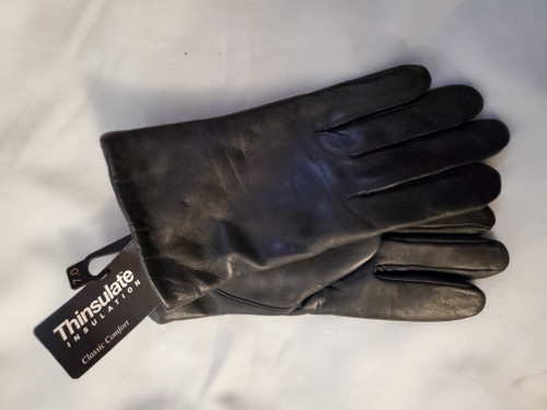 Isotoner Women's Leather Gloves with Thinsulate lining