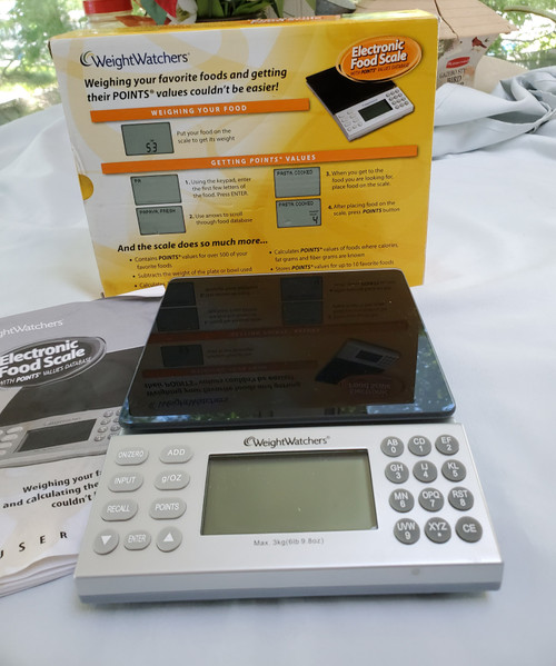 Weight Watchers Electronic Food Scale with Points Values Database (Ns1j )