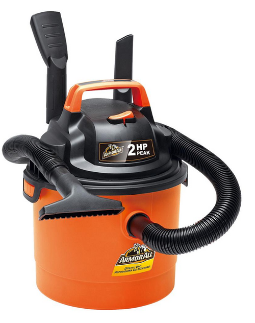Armor All 2.5-Gal. 2HP Wet/Dry Vacuum