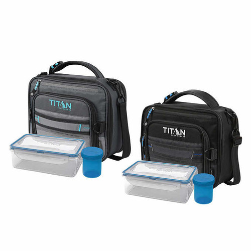 Titan Deep Expandable Lunch Box with 2 Ice Walls (1356897)