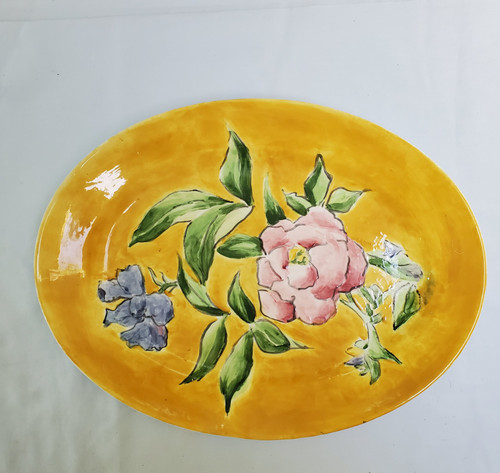 Italian Porcelain Decorated Tray