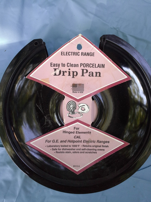 Electric Range Porcelain Drip Pan (07636441088)