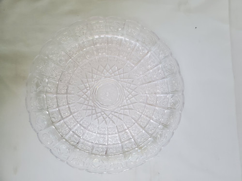 Acrylic Crystal Cut Glass Look Bowl